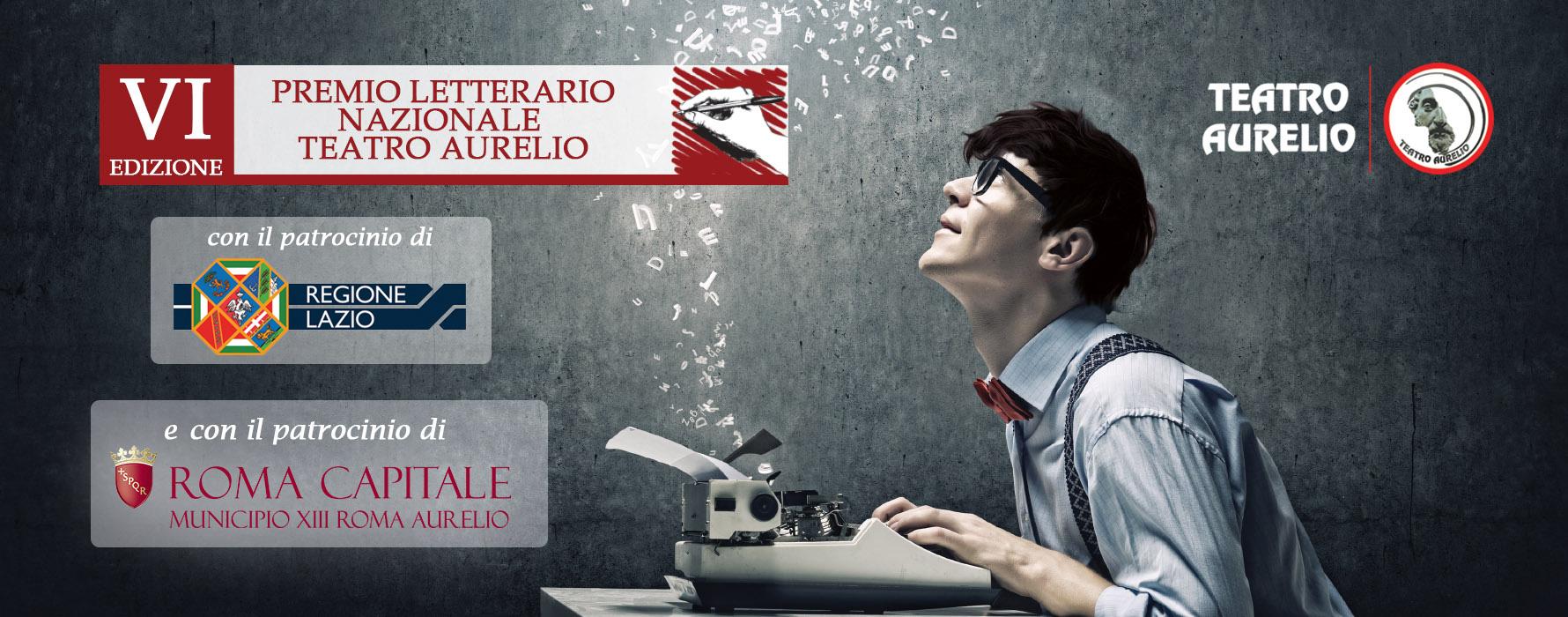 Premio letterario del Teatro Aurelio VI Edizione