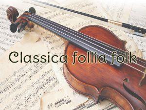 concerto Classica follia folk