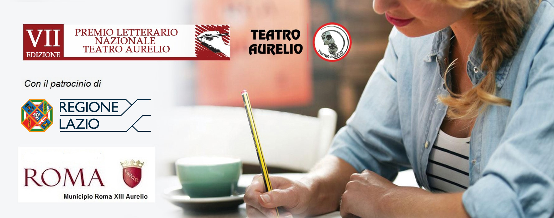 Banner Premio letterario Teatro Aurelio VII Edizione