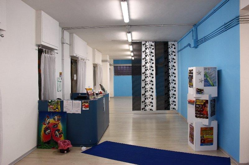 Sala del centro culturale aurelio CCA entrata