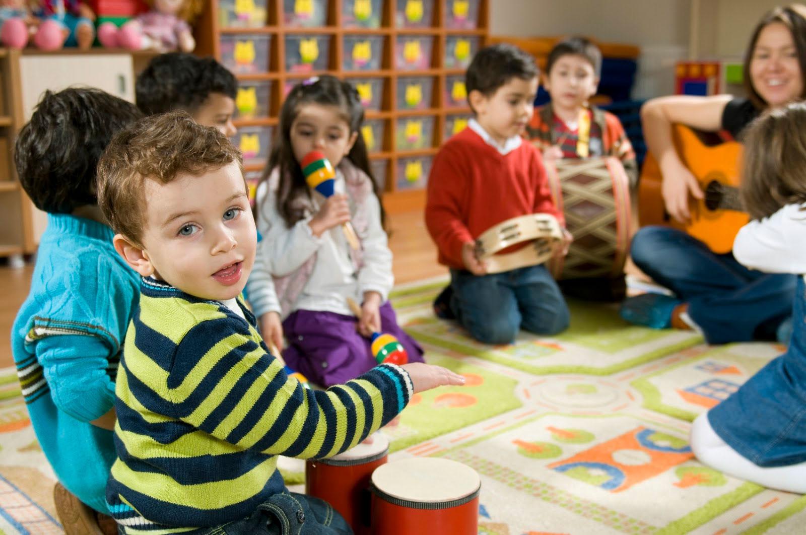 corso di gioco musica per bambini